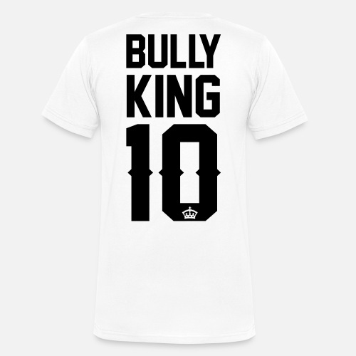Bully-King - Männer T-Shirt mit V-Ausschnitt - Männer Bio-T-Shirt mit V-Ausschnitt von Stanley & Stella