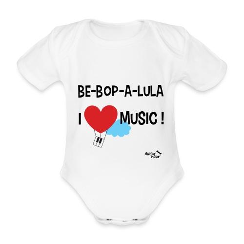 Body Bébé Be-Bop-A-Lula - Body bébé bio manches courtes