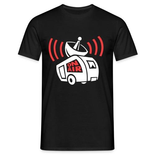 Wohnwagen/Rickymainia [Rücken]  Shirt Männer - Männer T-Shirt