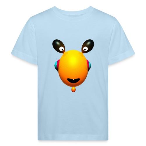 tee shirt Toothies yellow - T-shirt bio Enfant