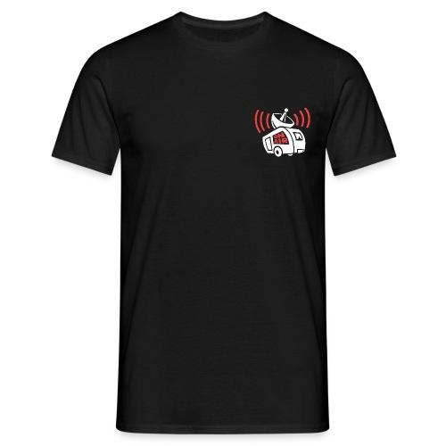 Wohnwagen [Klein] Tshirt Männer  - Männer T-Shirt