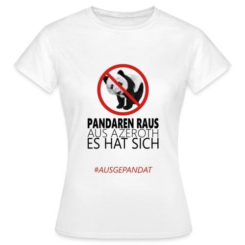 Anti-Pandaren-Shirt (Damen) - Frauen T-Shirt