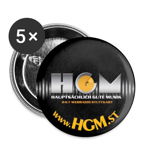 HGM Button Facelift - Buttons klein 25 mm