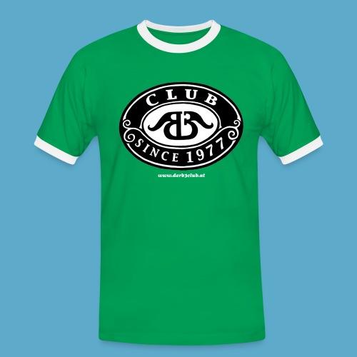 B3Club Retro-Leiberl (verschiedene Farben) - Männer Kontrast-T-Shirt