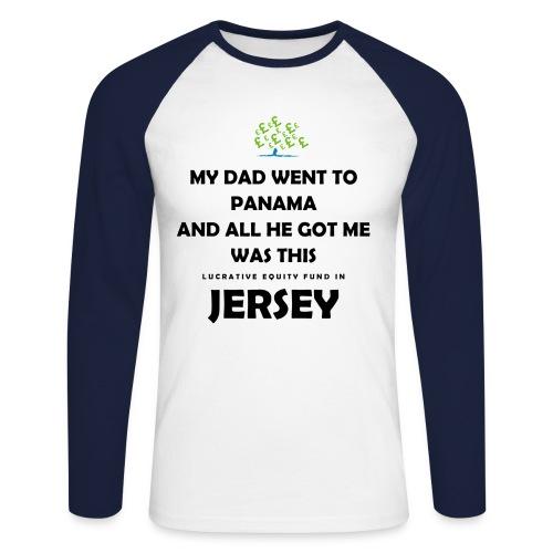 Tory Tax Avoidance Tee Shirt - Men's Long Sleeve Baseball T-Shirt