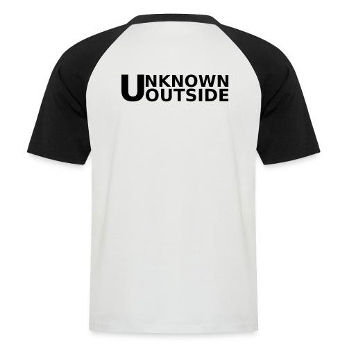 Unknown Outside Basic - Männer Baseball-T-Shirt
