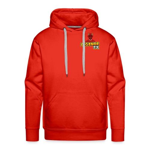 sweat shirt avec logo - Sweat-shirt à capuche Premium pour hommes