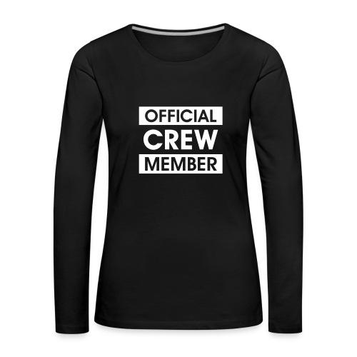 Premium shirt OCM - Vrouwen Premium shirt met lange mouwen
