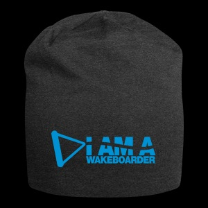 I am a WAKEBOARDER Logobranding - Jersey Beanie