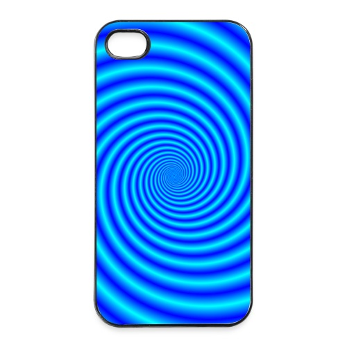 The Swirling Blues - iPhone 4/4s Hard Case