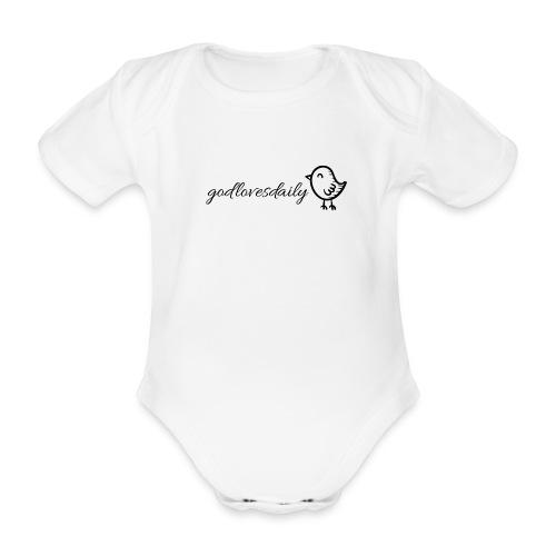 Kurzärmliger Baby Body - Baby Bio-Kurzarm-Body