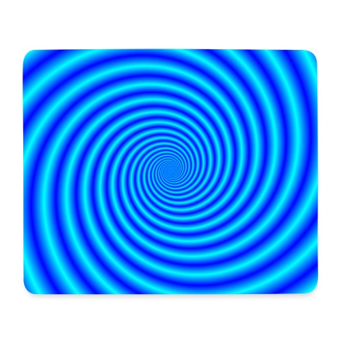 The Swirling Blues - Mouse Pad (horizontal)