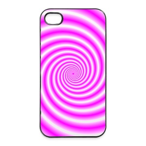 Pink and White Swirl - iPhone 4/4s Hard Case