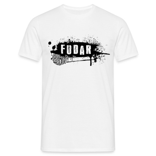 11. Fubar Black logo Basic - Men's T-Shirt