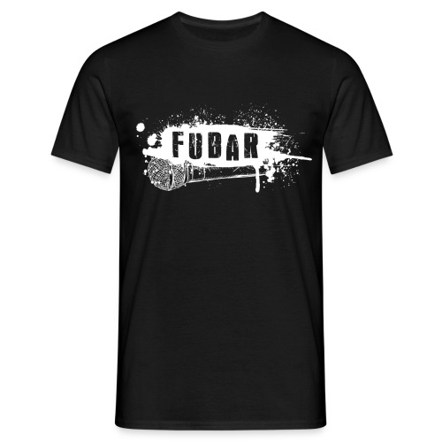 12. Fubar White logo Basic - Men's T-Shirt