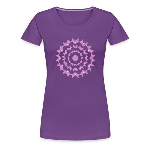 Frauen Shirt mit Schmetterlingen - Frauen Premium T-Shirt