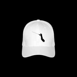 Wakeboarder in the Air - Flexfit Baseball Cap