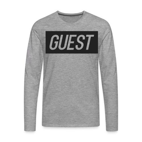 G-rectangle (grey) - Men's Premium Longsleeve Shirt