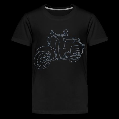 Simson Schwalbe - Teenager Premium T-Shirt