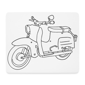 Simson Schwalbe - Mousepad (Querformat)