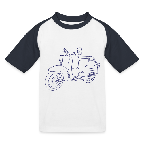 Simson Schwalbe - Kinder Baseball T-Shirt