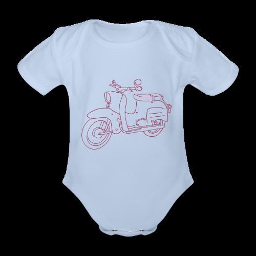 Simson Schwalbe - Baby Bio-Kurzarm-Body