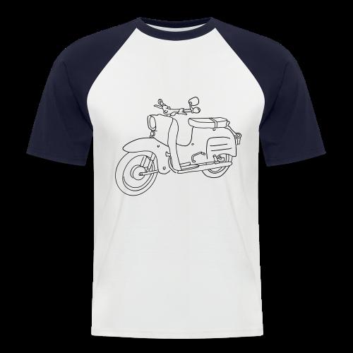 Simson Schwalbe - Männer Baseball-T-Shirt