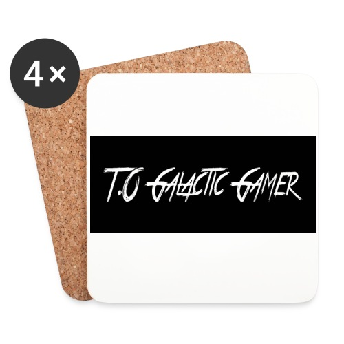 T.O Galactic Gamer Coasters - Coasters (set of 4)