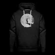 Pullover & Hoodies ~ Männer Premium Kapuzenpullover ~ Wolfinchen