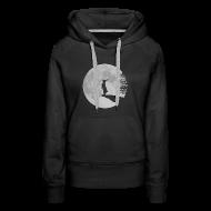 Pullover & Hoodies ~ Frauen Premium Kapuzenpullover ~ Wolfinchen