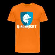 T-shirts ~ Mannen Premium T-shirt ~ Kingsnight T-shirt voor Koningsnacht
