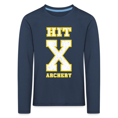 Kinder Premium Langarmshirt - HIT X ARCHERY - Kinder Premium Langarmshirt