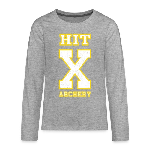 Teenager Premium Langarmshirt - HIT X ARCHERY - Teenager Premium Langarmshirt