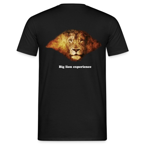 Tee-shirt homme Big Lion Experience - T-shirt Homme