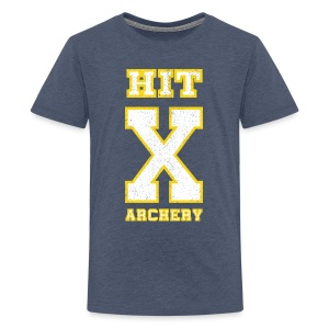 Teenager Premium T-Shirt - HIT X ARCHERY - Teenager Premium T-Shirt