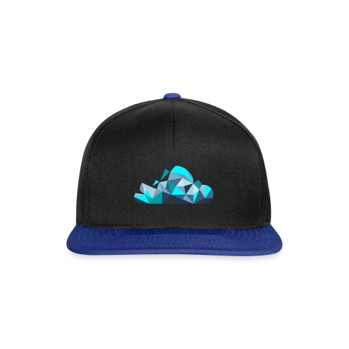 'CLOUD' Black And Blue Snap Back - Snapback Cap