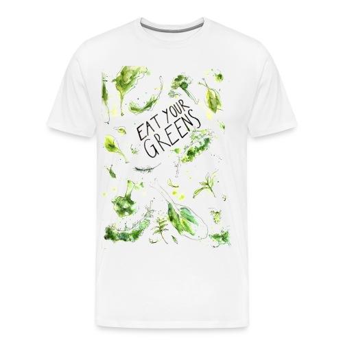 Eat your greens! - Männer Premium T-Shirt
