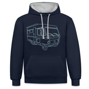 Wohnmobil - Kontrast-Hoodie