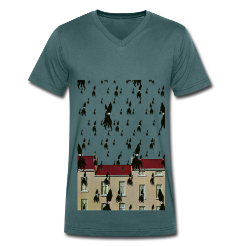 Tshirt MasSquid ColV LUI - T-shirt bio col V Stanley & Stella Homme