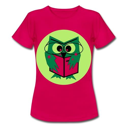 Leseeule - Frauen T-Shirt