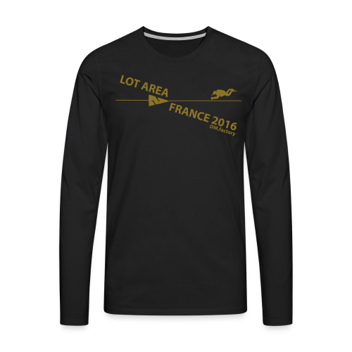 LOT AREA II France 2016 Collection ONE - Männer Premium Langarmshirt