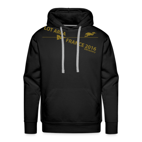LOT AREA II France 2016 Collection ONE - Männer Premium Hoodie