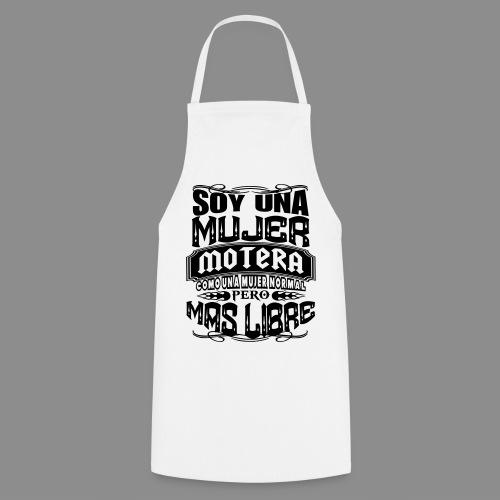 Soy una mujer motera - Delantal de cocina