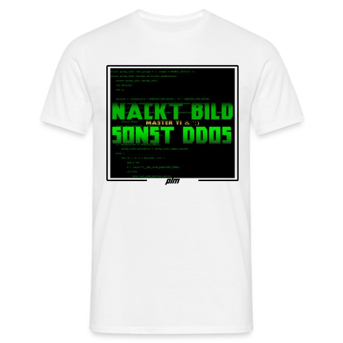 DDOS - Männer T-Shirt