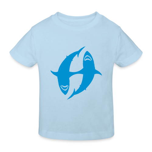 Hajen Herbert - Vackert Väder - Kids' Organic T-Shirt
