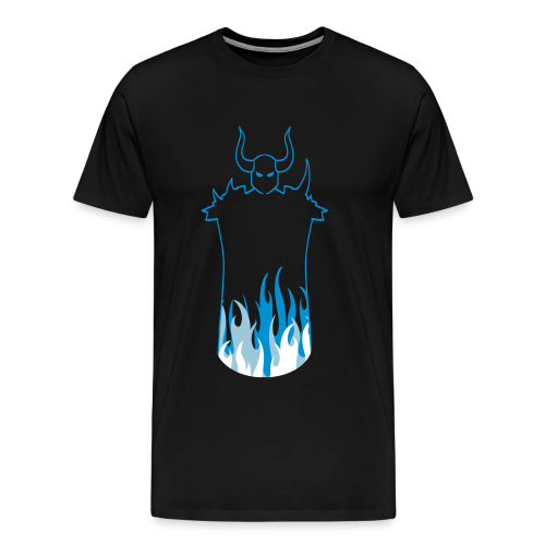 Dark Warrior Ice - Herre premium T-shirt - Herre premium T-shirt