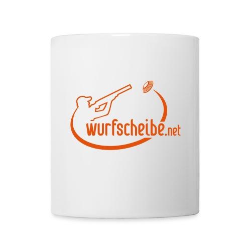 Tasse Logo komplett - wurfscheibe.net - Tasse