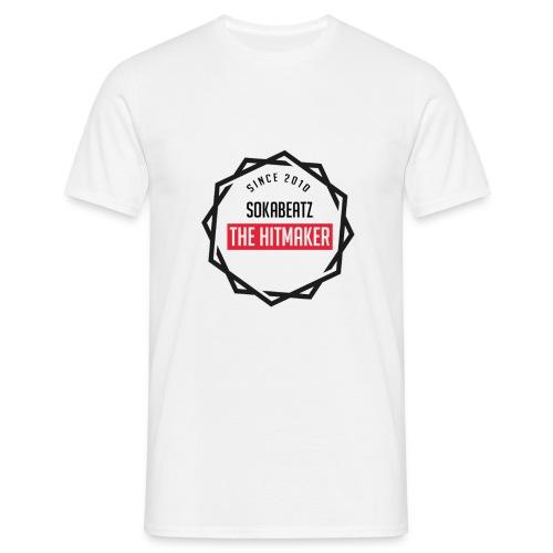 SokaBeatz Fan Shirt in weiß. - Männer T-Shirt