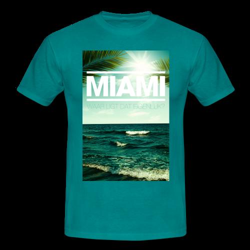 Miami mannen t-shirt - Mannen T-shirt