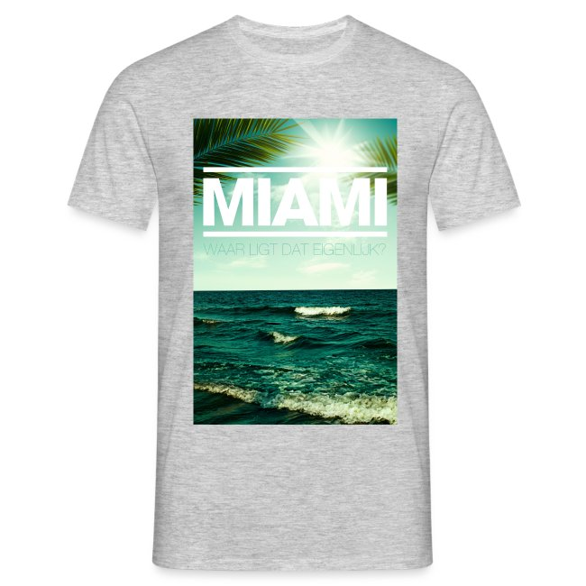 Miami mannen t-shirt